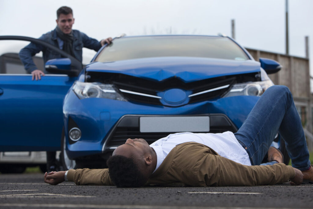Pedestrian accident Pomponio Injury Law