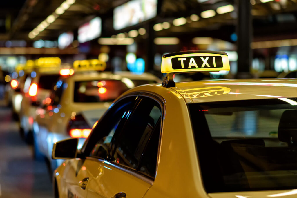 Taxi accident Pomponio Injury Law